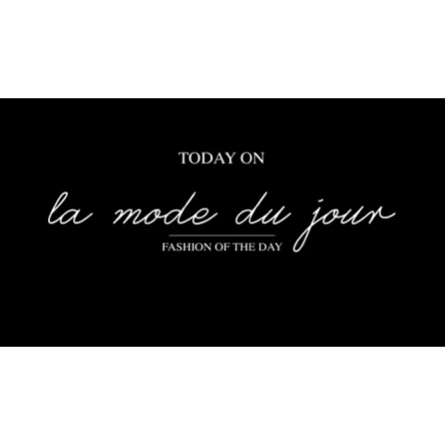 Today on #lamodedujour .... my daily beauty routine! Check it out ??#beauty #daily