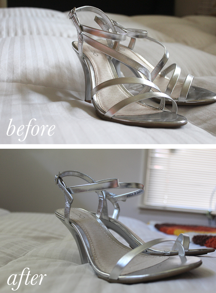 Bridesmaid Shoes Before_After