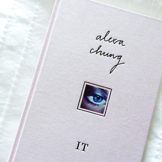 Just finished reading this ? thought it would help me understand her more, but she's quite mysterious ? #alexachung #it